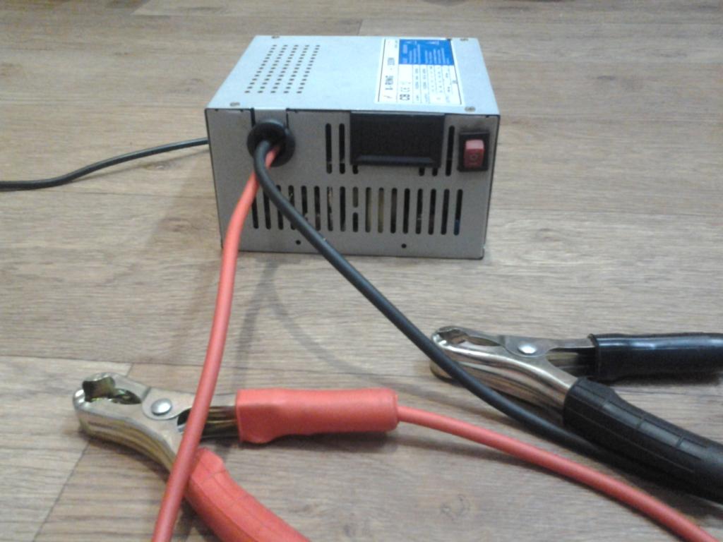 зарядка из блока питания компьютера