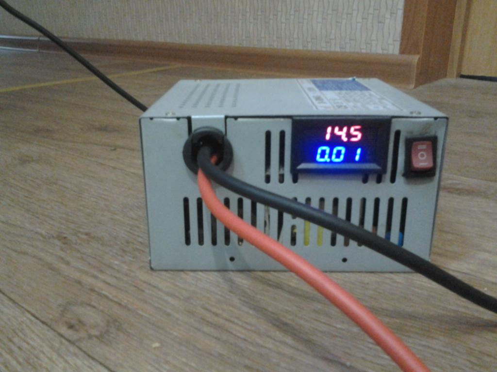 Как с компьютерного блока питания сделать автомобильное зарядное устройство