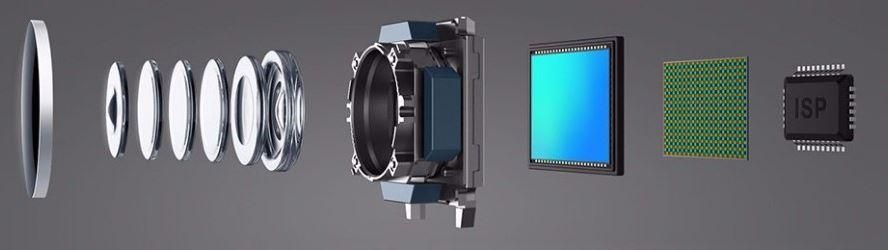 шестилинзовая камера