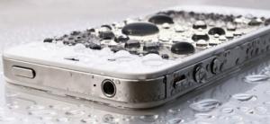 iPhone попала влага или уронил в воду