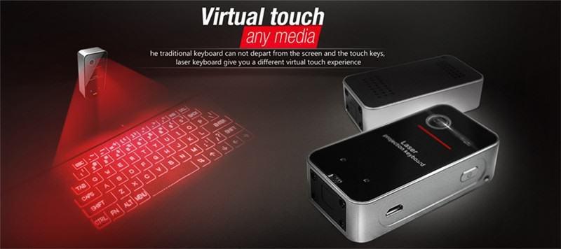 голографическая клавиатура для айфона