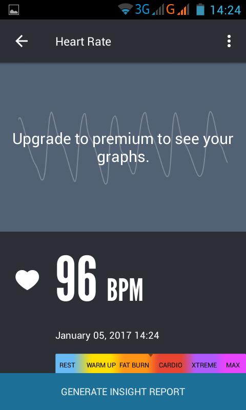приложения для подсчёта сердечного ритма