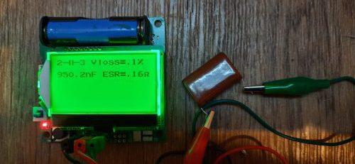 как померить ёмкость конденсатора